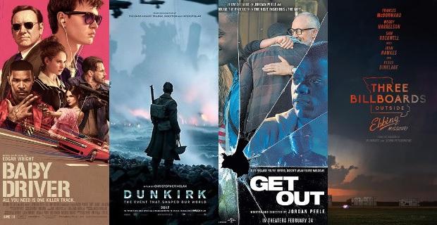 The Ten Best Movies of 2017