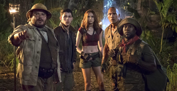 Weekend box office: Jumanji manages to overtake Star Wars for the top spot