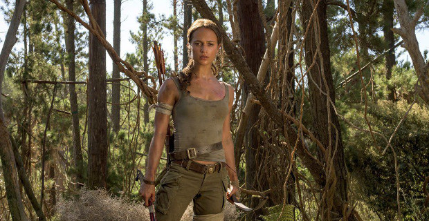 Weekend box office: Tomb Raider can't steal the top spot from Black Panther