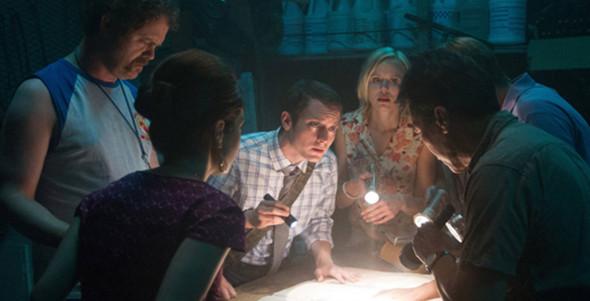Elijah Wood, Rainn Wilson, Alison Pill in Cooties
