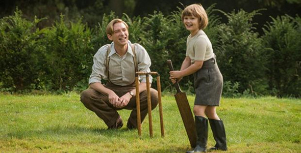Domhnall Gleeson in Goodbye Christopher Robin