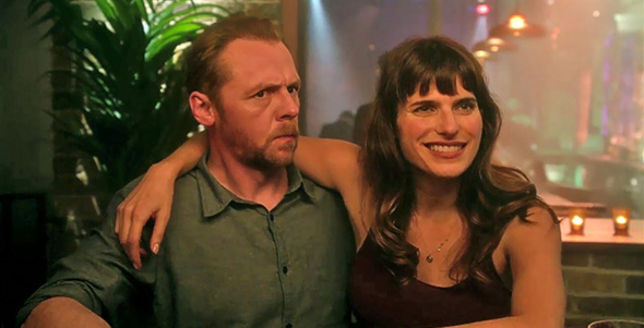 Lake Bell, Simon Pegg in Man Up