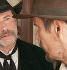 Ethan Hawke, John Travolta in In The Valley of Violence