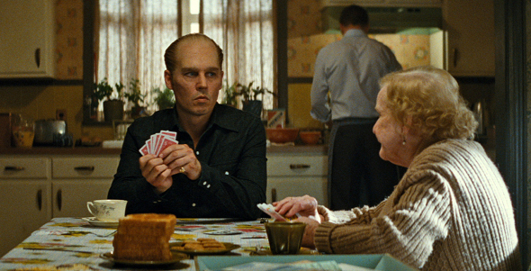 Johnny Depp in Black Mass