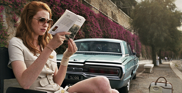 The Lady in the Car with Glasses and a Gun Blu-ray Review