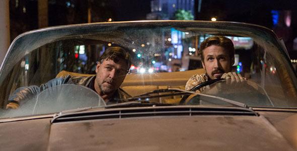 Ryan Gosling, Russell Crowe in The Nice Guys