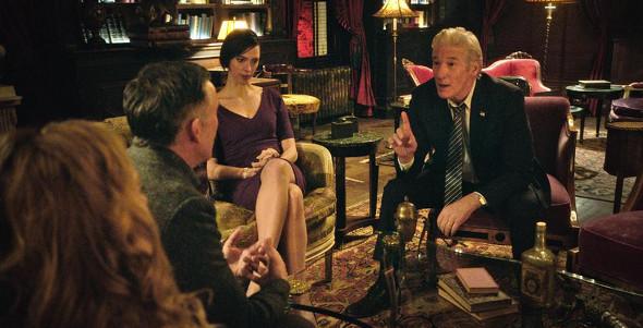 Richard Gere, Steve Coogan, Laura Linney, Rebecca Hall in The Dinner