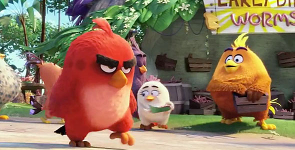 The Angry Birds Movie 4K Ultra HD