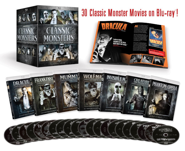 Universal Classic Monsters Collection 1