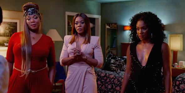Regina Hall, Queen Latifah, Jada Pinkett Smith in Girls Trip