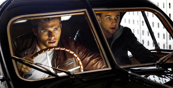 Scott Eastwood, Freddie Thorp in Overdrive